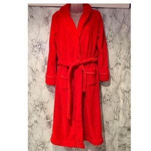 Victoria's Secret Red Long BathRobe Warm